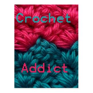 CrochetAddict part1 C2C design Post Card