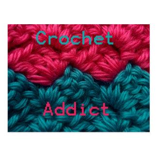 CrochetAddict part1 C2C design Post Cards