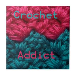 CrochetAddict part1 C2C design Ceramic Tiles