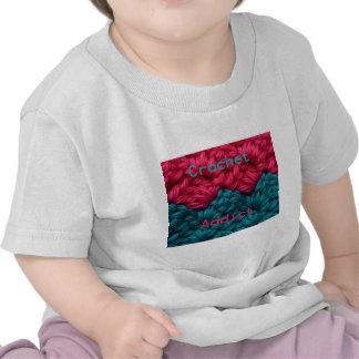 CrochetAddict part1 C2C design Shirt