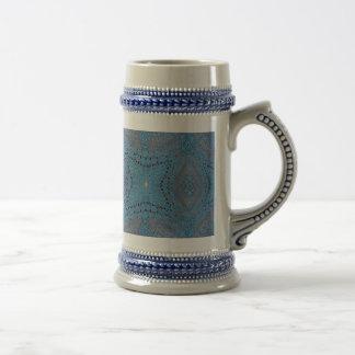 Crocheted Blue Ball Mug