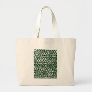 Crocheted-Look Large Tote Bag
