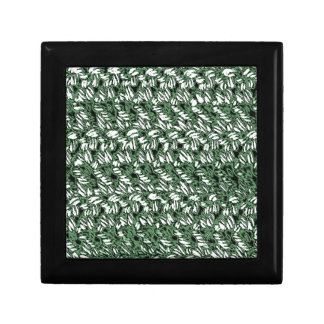 Crocheted-Mirada Cajas De Recuerdo