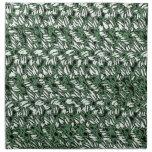 Crocheted-Mirada Servilletas De Papel
