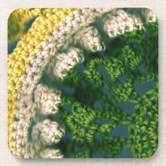 Crocheted Photo-Op Drink Coaster