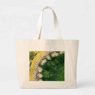 Crocheted Photo-Op Large Tote Bag