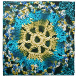 Crocheted Servilleta De Papel