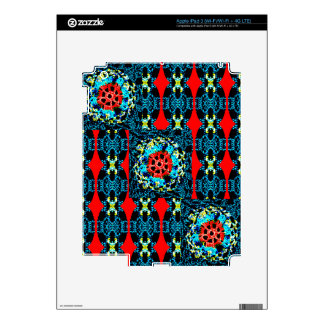 Crocheted Style iPad 3 Decals