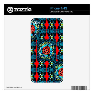 Crocheted Style iPhone 4 Skin
