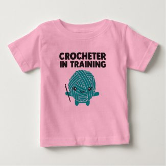 Crocheter in Training Toddler Shirt