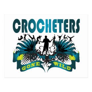 Crocheters Gone Wild Postcard