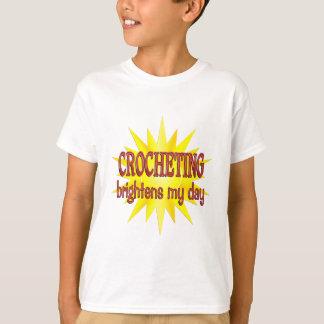 Crocheting Brightens My Day T-Shirt