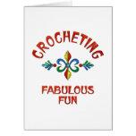 Crocheting Fabulous Fun Card