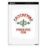 Crocheting Fabulous Fun Decals For The iPad 2
