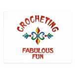 Crocheting Fabulous Fun Post Card