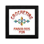 Crocheting Fabulous Fun Trinket Boxes
