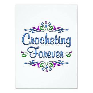 Crocheting Forever Card