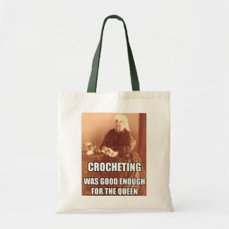 Crocheting: Good Enough for the Queen Tote Bag