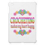 Crocheting Heart Happy iPad Mini Case