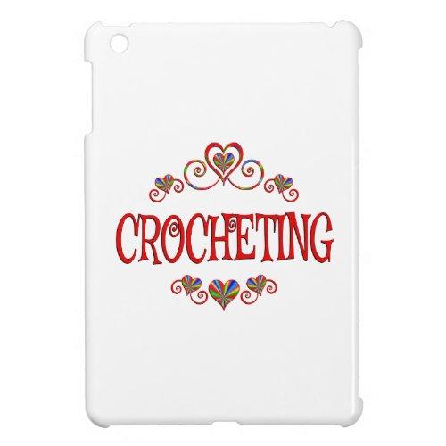 Crocheting Hearts iPad Mini Cases
