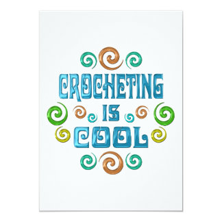 Crocheting is Cool Card