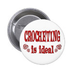 Crocheting is Ideal Pin