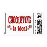 Crocheting is Ideal Stamp