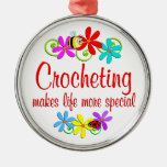 Crocheting is Special Christmas Ornament