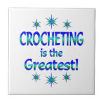 Crocheting is the Greatest Ceramic Tile
