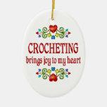 Crocheting Joy Ornaments