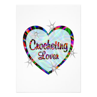 Crocheting Lover Announcement