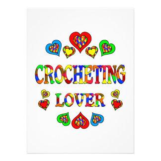 Crocheting Lover Personalized Invite