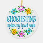 Crocheting Smiles Christmas Tree Ornament