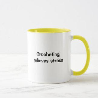 Crochetingrelieves stress coffee mug