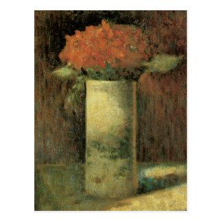 Crock of Flowers Post Card