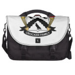 Crocker Family Crest Commuter Bags