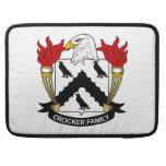 Crocker Family Crest MacBook Pro Sleeves
