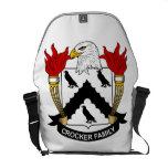 Crocker Family Crest Messenger Bag