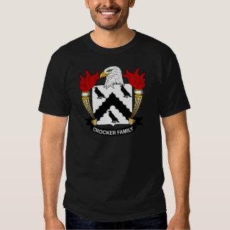 Crocker Family Crest T Shirt