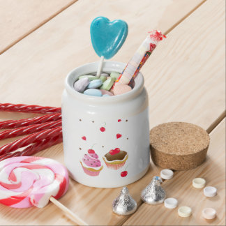 """Crockery """"Love of cupcakes """" Candy Dishes"""