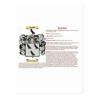 crocket (significado) postales