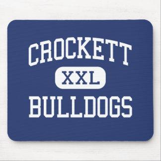 Crockett - Bulldogs - Junior - Crockett Texas Mouse Pad