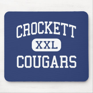 Crockett Cougars Middle School Irving Texas Mouse Pad