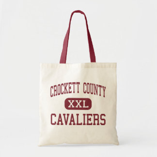 Crockett County - Cavaliers - Middle - Alamo Tote Bags