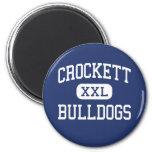 Crockett - dogos - High School secundaria - Crocke Iman Para Frigorífico