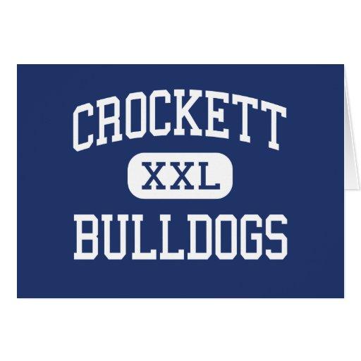Crockett - dogos - High School secundaria - Crocke Tarjetas