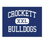 Crockett - dogos - High School secundaria - Crocke Tarjetas Postales