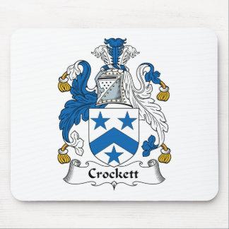Crockett Family Crest Mouse Pad
