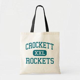 Crockett - Rockets - Vocational - Detroit Michigan Bags