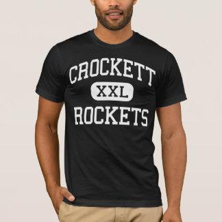 Crockett - Rockets - Vocational - Detroit Michigan T-Shirt